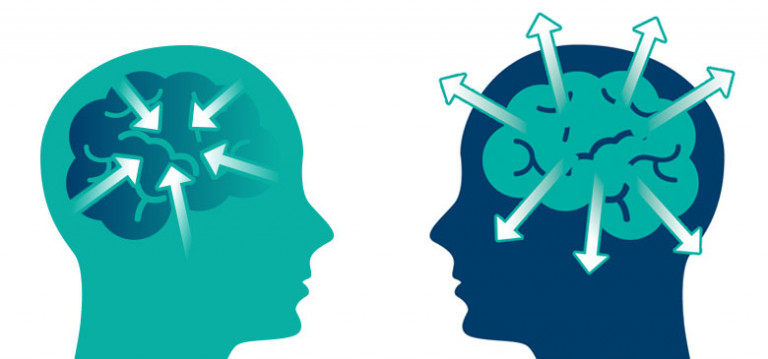 Introvert versus extrovert in the workplace